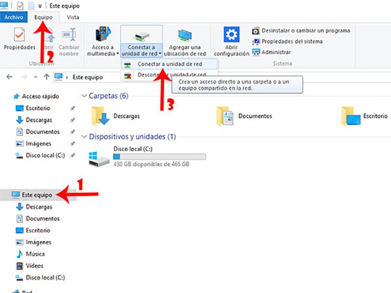 WebDAV Windows 10 Afro Cloud